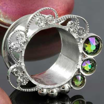 Silver Inner glow eyelets