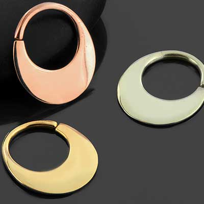 Haute septum seamless ring