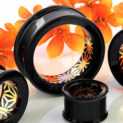 Pyrex Glass Foil Eyelets (Japanese Star)