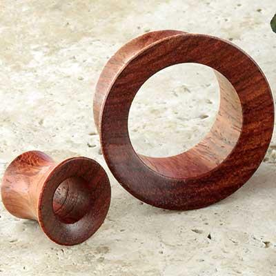 Wood Mayan Flare Eyelets