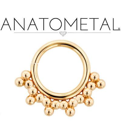 PRE-ORDER 18k gold Sabrina seamless ring