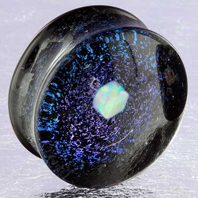 Raw Opal Galaxy Plugs (Grape)