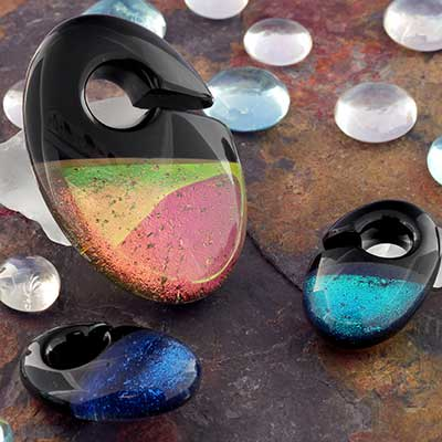 Hybrid Deluxe Dichroic Ovoid Weights