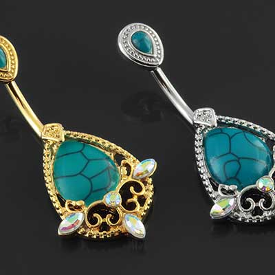 Royal Turquoise Navel