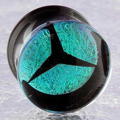 Pyrex glass trifecta foil plugs