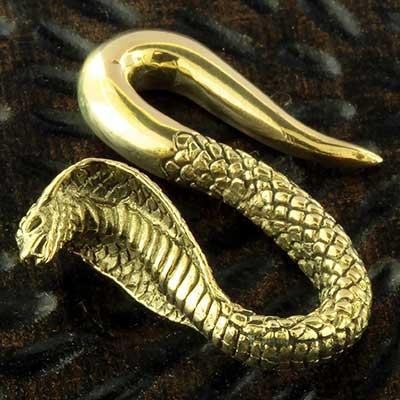 Brass cobra weights