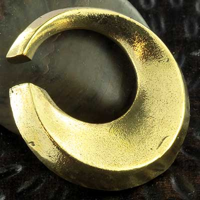 Brass circle weights