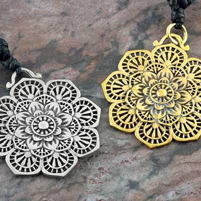 Floral Mandala Necklace