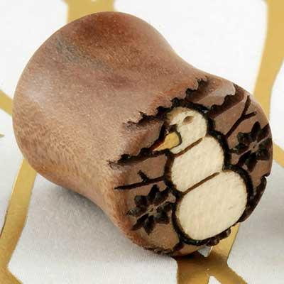 Swiss pear snowman plugs
