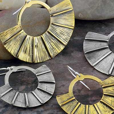 Brass fan design