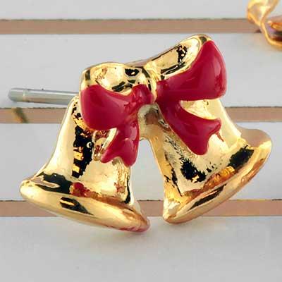 Jingle bells earrings