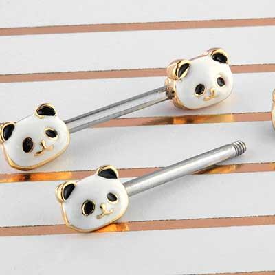 Panda Nipple Barbell