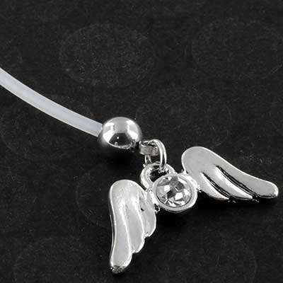 PTFE free size angel wings pregnancy navel
