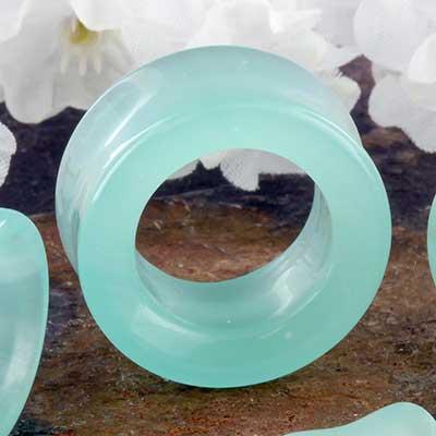 Mint opalite eyelets