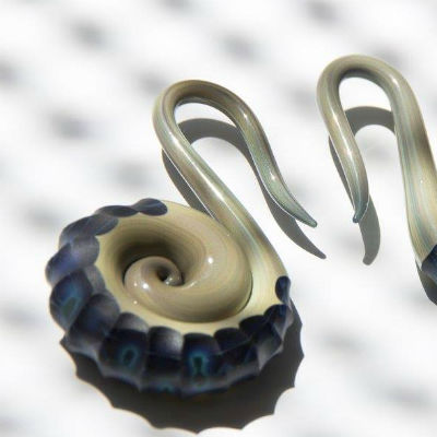 PRE-ORDER  Nautilus Glass Weight