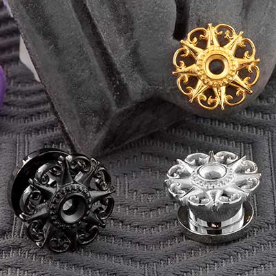Screw Fit Pointed Star Plug