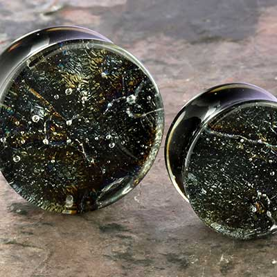 Black Iridescent Plugs