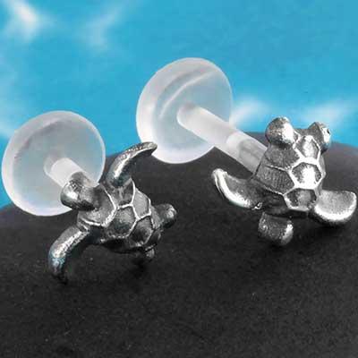 Bioplast turtle labret