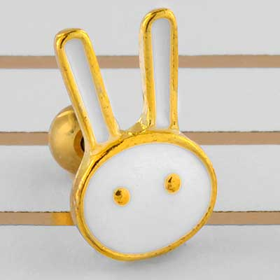 White Bunny Barbell
