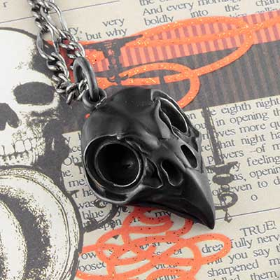 Owl Skull Necklace