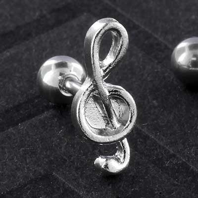 Treble Clef Barbell