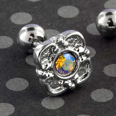Adorned Aurora Jewel Barbell