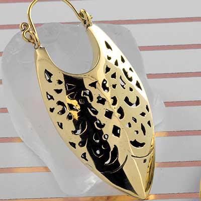 Brass Maharashtra Earrings