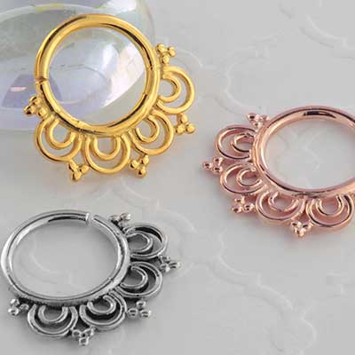 Droplet Seamless Septum Ring