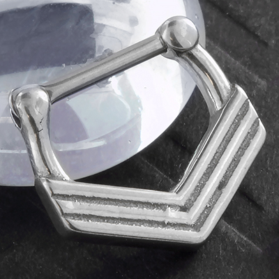 Steel Chevron Clicker