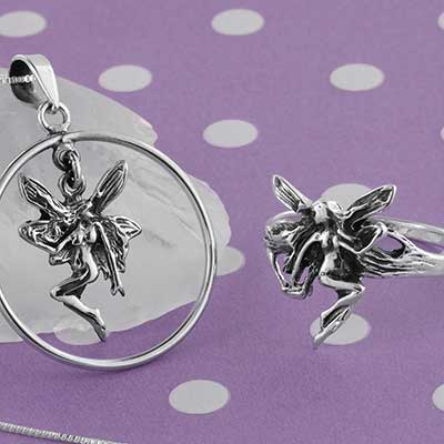 Silver Fairy Jewelry Design