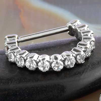 Titanium Radiance Nostril Clicker