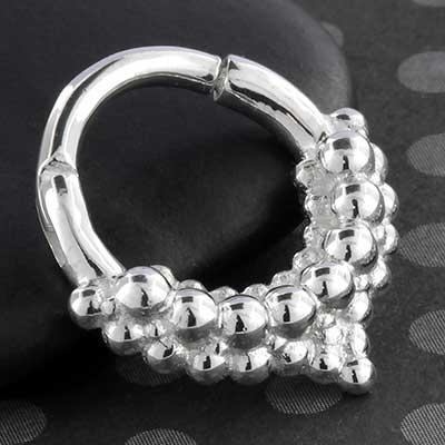 Mist Septum Clicker Ring