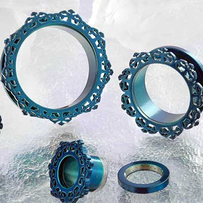 Blue Colored Sun Eyelet