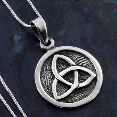 Silver Triquetra Necklace