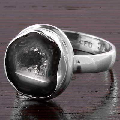 Geode Druzy Ring
