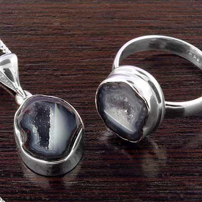 Geode Druzy Jewelry