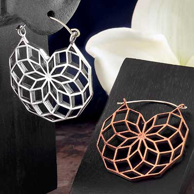 Vector Sacred Geometry Hoops