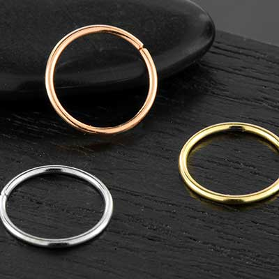 14k Seamless Ring