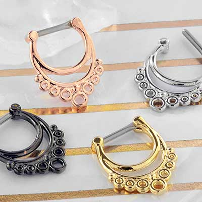 Circles Septum Clicker