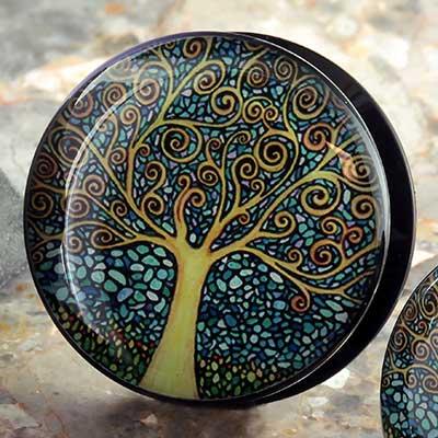 Acrylic Tree Plugs