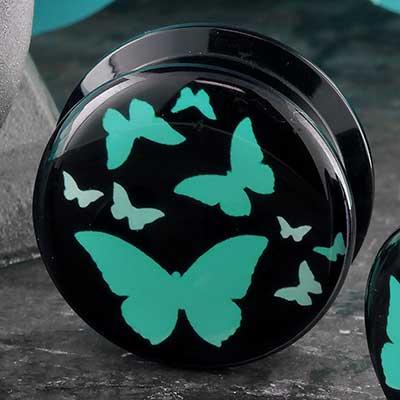 Acrylic Butterfly Plugs