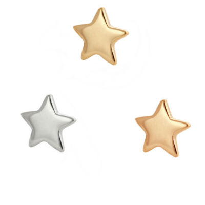 PRE-ORDER 14k Gold Star End