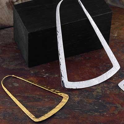 Bell Hoop Earrings