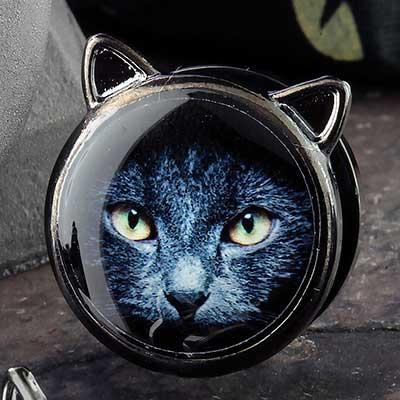 Black Coat Cat Plugs