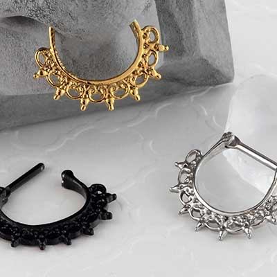 Halo Lace Septum Clicker