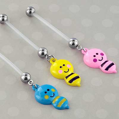 PTFE Flexible Bumble Bee Pregnancy Navel