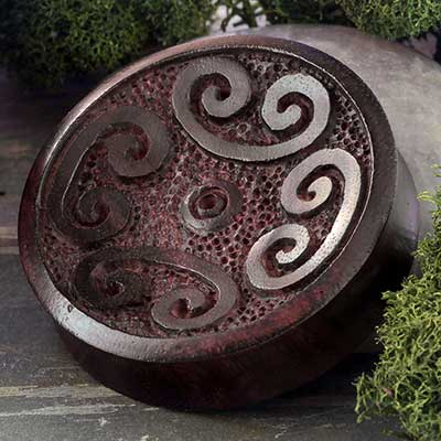 Carved Sono Wood Plugs