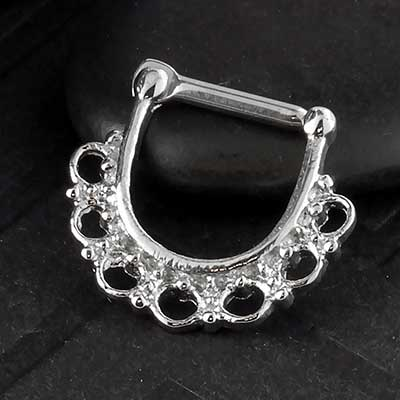 Steel Filigree Lace Clicker