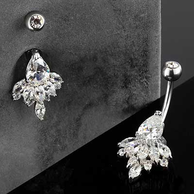 Crystal Chandelier Navel