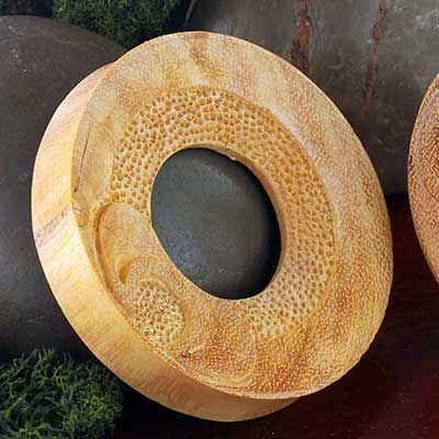 Carved Nunca Wood Eyelets